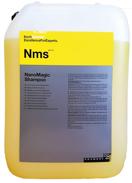 koch chemie nano magic shampoo 10kg. Black Bedroom Furniture Sets. Home Design Ideas